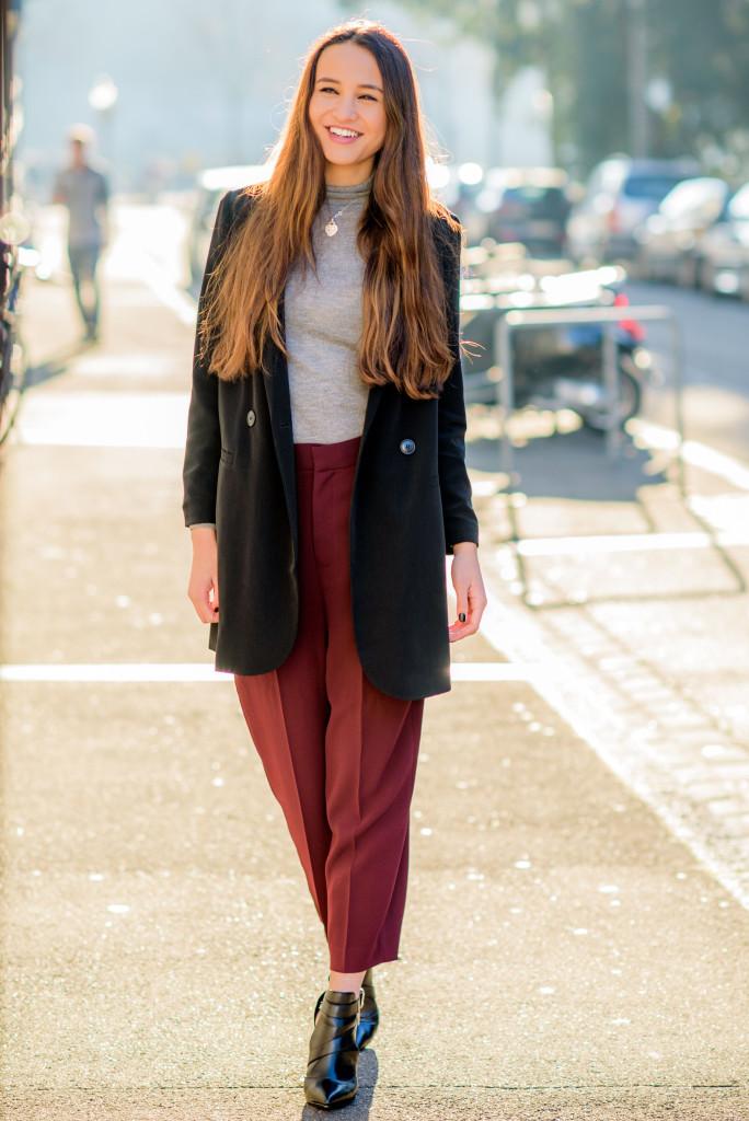 Burgundy M