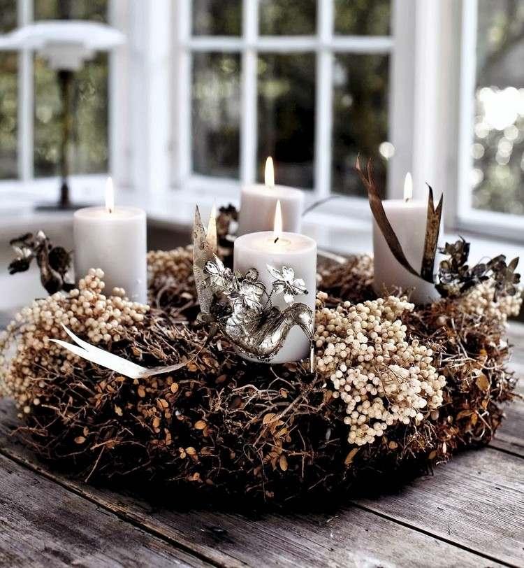 Adventskranz Modern Pinterest Beliebter Weihnachtsblog